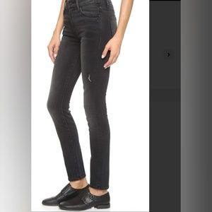 MOTHER high waisted thelookerwait until dark jeans